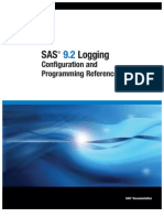 SAS 9.2 Logging- Configuration and Programming Reference