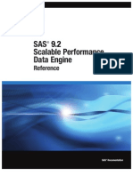 SAS 9.2 Scalable Performance Data Engine- Reference