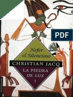 Nefer El Silencioso - La Piedra De.epub
