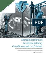 Abordajes escolares de  la violencia política y  el conflicto armado en Colombia