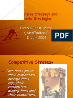 Competitve Strategy and Generic Strategies