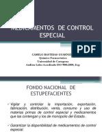 medicamentos de control especial 2020