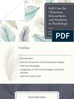 Self-Care for Clinicians, Researchers, and Students Presentation.pdf