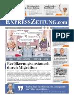 Express Zeitung 05 Bevölkerungsaustausch durch Migration