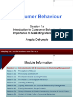 Consumer Behaviour 1a Introduction AD121010 1