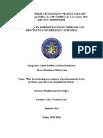 PLANIFICACION ESTRATEGICA  022