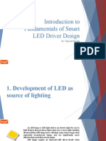 INTRODUCTION TO FUNDAMENTALS OF SMART LED DRIVER DESIGN