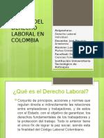 ORIGEN DEL DERECHO LABORAL EN COLOMBIA
