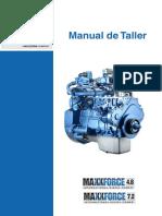 MAXXFORCE Manual de Taller E4 Español.pdf