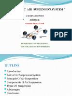 Automatic Air Suspension