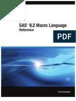 SAS 9.2 Macro Language - Reference