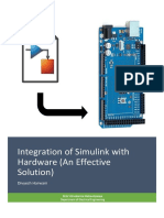 Simulink interfacing with Arduino (Manual)