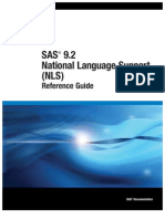 SAS 9.2 National Language Support (NLS)- Reference Guide