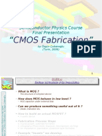CMOS fabrication process