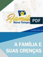 01. Classe Bíblica A família e a crenças