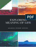 Exploring Meaning of Life_Salman Ahmed Shaikh