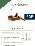 Derecho Canónico 1