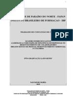 TCC IBF FAPAN  LEANDRO BORRI- GESTÃO DE PESSOAS, DESENVOLVIMENTO GERENCIAL E COACHING