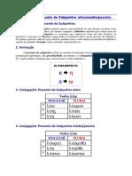 Tabelas e Observações - Presente do Subjuntivo.pdf