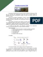 Testador de porta USB