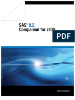 SAS 9.2 Companion for zOS