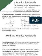 Unidad 1 Media aritmeéica y mediana