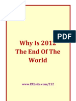 2012 Why is December 2012 the End of the World