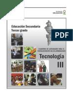 Cuaderno de Actividades de Tecnología III Pag. 28 a La 40