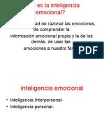 Clase 1-Inteligencia Emocional