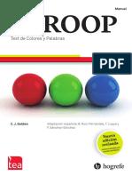 STROOP-R - Manual
