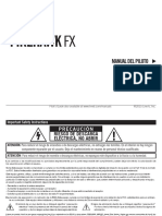 Firehawk FX Pilot's Guide - Spanish ( Rev E )