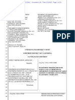 20-03-19 Apple Intel Opposition to Motion to Dismiss