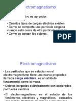 CLASE 1 PARTE 1CargaElectricaCampoElectrico