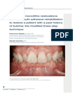 7 CAD CAM monolithic restorations and full-mouth adhesive rehabilitation.pdf