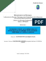 Introduction aux dérivées et intégrales fractionnaires théorie  application.pdf