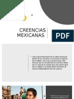 CREENCIAS MEXICANAS