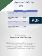 REGISTRO CONTABLE DEL IVA PRESENTACIÓN