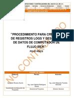 PO-07-RDCS PROCEDIMIENTO PARA CREACION DE REGISTROS LOG´S Y DESCARGA DE DATOS DE COMPUTADOR DE FLUJO SICK