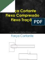 Força Cortante – Flexo Compressão e Flexo Tração.pdf