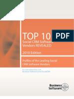Top 10 Social Crm