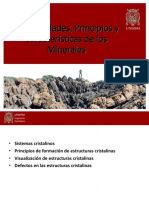 Geología Aplicada - Generalidades, Principios y Características de los Minerales