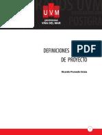 Definiciones Básicas de Proyecto (Imprimible)