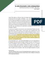 A fototagrafia entre documento e arte contemporânea - Lilian.pdf