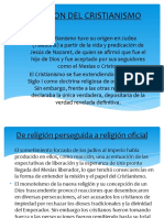 APARICION DEL CRISTIANISMO