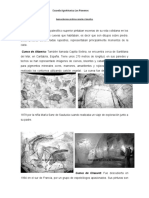 Cuevas durante el paleolítico