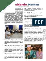 Cuidando Notícias nº 01  - Ano 1 | Projeto Cuidando do Futuro