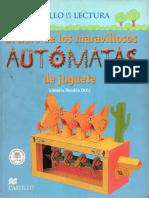 Libro Maravilloso de Los Automatas de Juguete