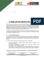 6. Area de Ifluencia del Proyecto