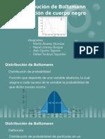 Emisión del cuerpo negro y distr. Boltzmann