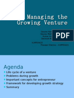 Managing the Growing Venture